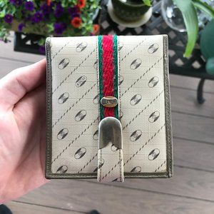 Gucci 1980s Vintage Rare Wallet